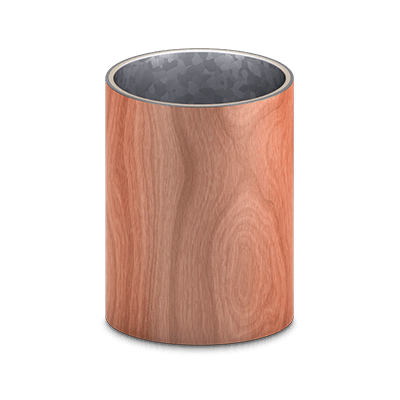 Wood Grain Column