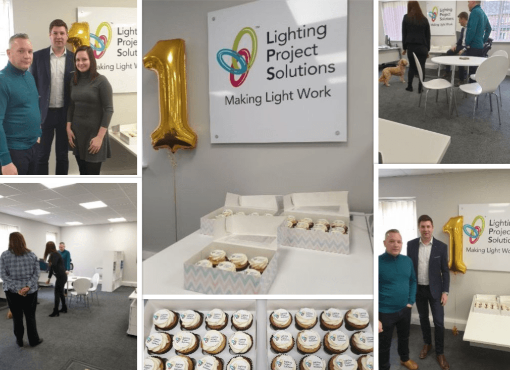 Lighting Project Solutions has turned one year old!