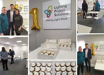 Lighting Project Solutions has turned 1 today!